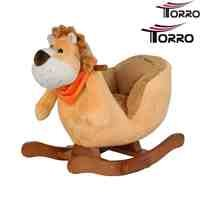 TORRO 3199902513 - Very Sweet Baby Rocking Horse - King Lion Music and Seat