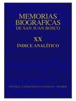 Índice de Memorias Biográficas - Tomo XX