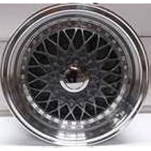 2x Alloy Wheels BBS RS Style 15x7.0 Grey Greggson GG-87-CC - Llantas de aleación (BBS RS estilo 15 x 7, 2 unidades), color gris