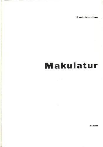 Paolo Nozolino Makulatur /anglais