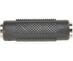 Audio-Koppler - - Steren Mini-Phone Stereo 3.5 mm (F) - Mini-Phone Stereo 3,5 mm (F) - schwarz Steren Stereo-audio
