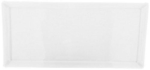 Judge Plateau Rectangulaire, Blanc, 22 x 13 cm