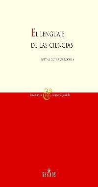 Lenguaje de las ciencias: 3 (VARIOS GREDOS) por Bertha Gutierrez Rodilla