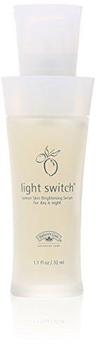 Natures Gate Organics Lemon Skin Brightening Serum for Day & Night, Light...