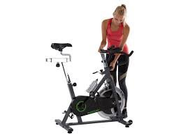 21fHbAbeVdL - Tunturi Cardio S30 Exercise Adjustable Spin Bike