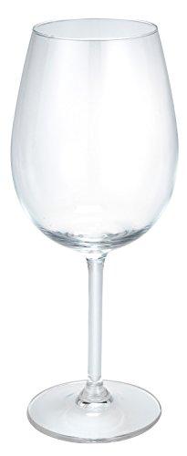 Roséweinglas Bouquet ohne Füllstrich, 0.45l, 20cm (H), transparent, Glas ohne Füllstrich 6...