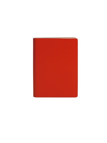 paperthinks-recycled-leather-9-x-13cm-256-page-pocket-plain-notebook-torrid-orange