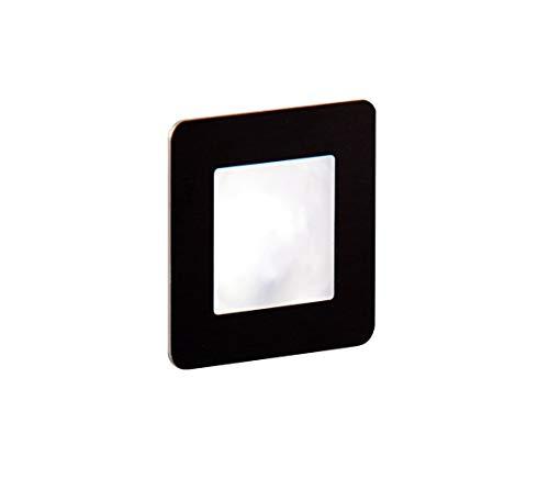 LDST DI-01-SC-BZ9 - LED Treppenbeleuchtung DIANA 9xLED/1,2W/230V schwarz matt Sc-led