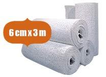 6 x Premium Gipsbinden 6 cm x 300 cm von Comfort-Cast Gipsbinde 6 Stück 6 cm x 3m = 18 Meter - Premium-cast