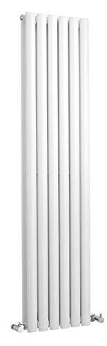 Hudson Reed Revive HL368Radiateur double panneau très brillant 150cmx 35,4cm, blanc, blanc, HL368