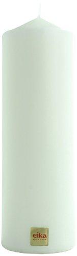 Eika 12522721 Stumpenkerze 21,5 cm x 7 cm weiß