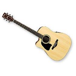 Ibanez aw300lece nt-left Handed Electroacústica guitar-natural