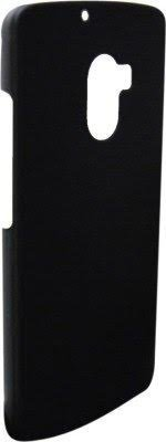 Lenovo K4 Note Back Cover Rubberised Matte Hard PC Case (Black)