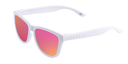 Hawkers Artic White Nebula One , Gafas de Sol Unisex,  Blanco/Fucsia Hawkers