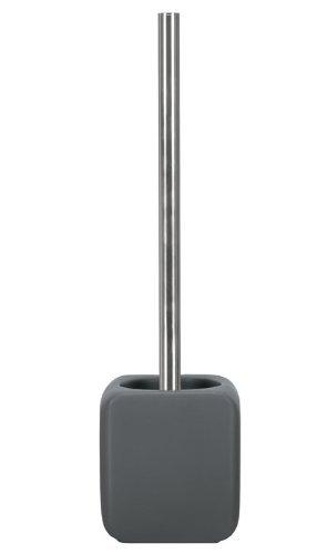 Kleine Wolke 5066901856 WC-Bürstenhalter Cubic, Accessoires, anthrazit