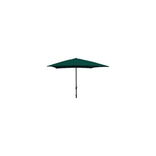 Vette 57300 cdf06780 ombrellone con manovella, rettangolare, alluminio, cromato, 2x3x2.6 cm