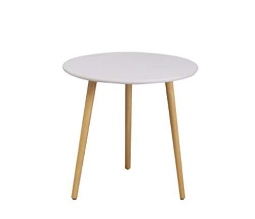 C-J-Xin Doppel Storage Table, Holz Dreieck Tisch Wohnzimmer Schlafzimmer Nachttisch Multifunktions-Couchtisch Platz Sparen (Color : B, Size : 60 * 52CM) | Schlafzimmer > Nachttische | C-J-X TABLE