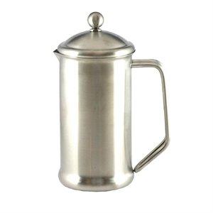 Cafetera de acero inoxidable 3 taza 3 acabado satinado capacidad de la taza. 400 ml