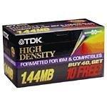 """TDK 50discos disquetes de 3,5""""preformateado para PC"""