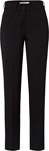 Brax Damen Celine Clean Wool Flatfront Feminine Fit klassisch Hose, Schwarz (Black 2), W(Herstellergröße: 40L)