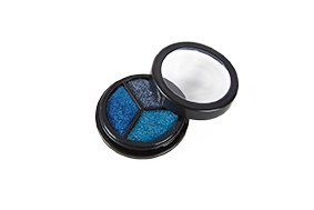 Rubies - 712108 - Trio Glitter ICE Edition * Jofrika Cosmetics * Blautöne und Silber * Schminke/Body Make up