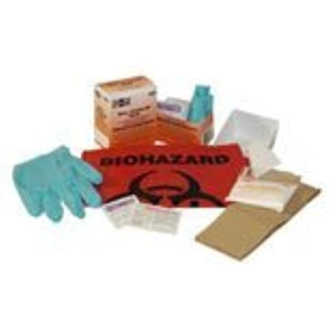 PT# 21-760 PT# # 21-760- Spill Kit Body Fluid Clean Up Biohazard First Aid Ea... by Pac-Kit