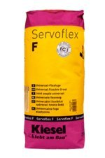 'Servoflex F' schnelle wasser- und schmutzabweisende Flex-Fugenmasse, für 3 bis 25 mm Fugenbreite, grau (1 Sack 5 kg)