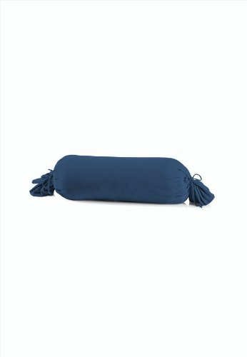 Schlafgut 031-137 Mako Jersey Kissenbezug/15 x 40 cm, marine