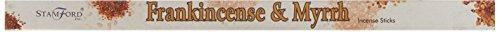 Stamford Squares Rucherstbchen 8 Sticks Weihrauch & Myrrhe Single Pack - Indien-elemente