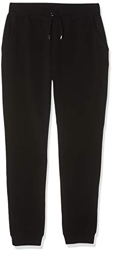 find. Damen Jogginghose aus Jersey, Schwarz (Black), Gr. 40 (Herstellergröße:M)