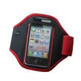 Palo Red Running Sports Armband Case Holder for iPod Touch iPhone 3G 3GS 4 4S 4G