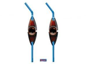 Das Haus Anubis Trinkhalme Augen-Logo, 6 St.