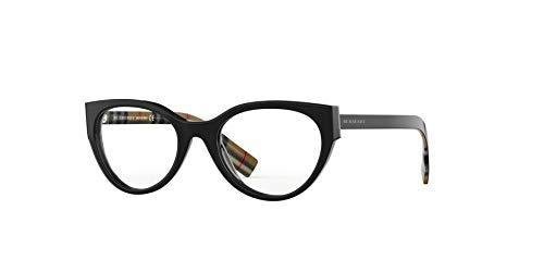 BURBERRY Brille (BE-2289 3773) Acetate Kunststoff glänzend schwarz