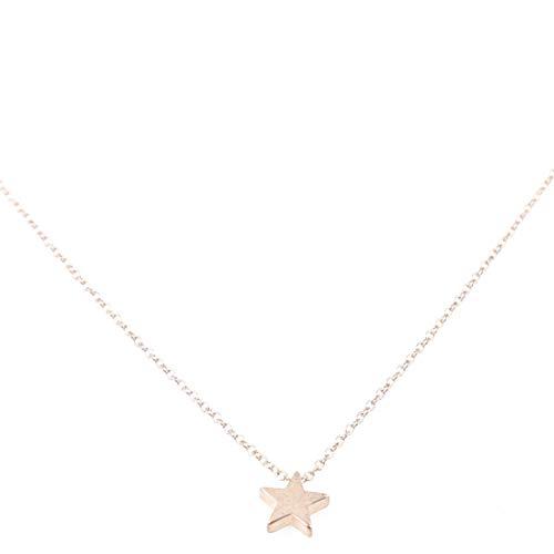 WEIHEEE Halskette mit einfachem Stern-Anhänger Minimalismus modische Halskette - Gold