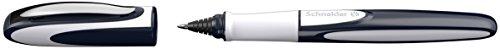 Schneider Patronenroller Ray (Tintenroller mit Edelstahlspitze, inkl. Tintenpatrone, Made in Germany) tiefblau/hellgrau - 2