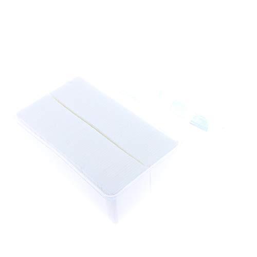 Sharplace 1000 pcs Carré Coton à Démaquiller Epais pour Maquiller Nail Art Ongle Nettoyant Cosmétique