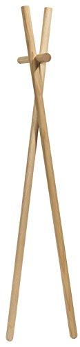 kommod K905 Garderobe Minilenah, Massivholz, natur  esche