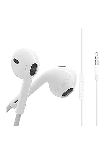 JBi Earphone/Headphone with Mic Compatible with Vivo U10/Z1 Professional/V17 Professional/V15/S1/Z1X/V15 Professional/Y15/Y17/Y12/Y90/V11 Professional/U10/Y91/V9/Y91i/S1, Vivo Y95, Vivo Y91, Vivo V11, and All 3.5 Jack Support Image 3