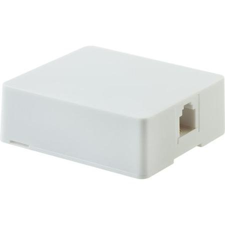 GE Surface Mount Phone Jack, White: by GE (Surface Mount Phone Jack)