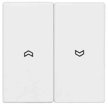 Preisvergleich Produktbild Jung LS995PWW Wippe für Jalousie-Schalter/-Taster