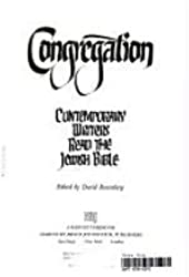 Congregation: Contemporary Writers Read the Jewish Bible