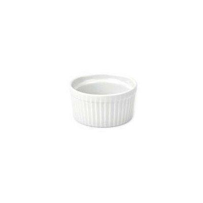 BIA Cordon Bleu Blanc Ramequin Porcelaine. 6 ounce blanc