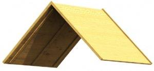 Holzdach Größe