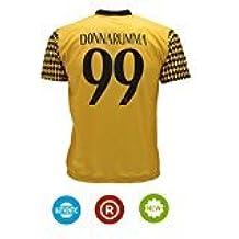 Camiseta Jersey Futbol Milan Gianluigi Donnarumma 99 Replica Para Hombre Autorizado (S)