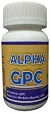 Hawaiian Herbal Alpha Gpc Capsules - 60 Capsules(BUY ANY HAWAIIAN HERBAL SUPPLEMENT & GET THE SAME DROPS FREE + DETOX FOOT PADS FREE + ANTI RADIATION MOBILE CHIP/STICKER FREE)