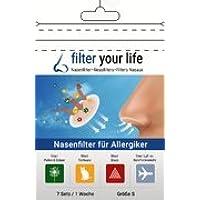 FILTER YOUR LIFE Nasen Filter gegen Allergie Large, Heuschnupfen, Hausstaub Allergie, Hundehaar Allergie, Katzenhaarallergie... preisvergleich bei billige-tabletten.eu