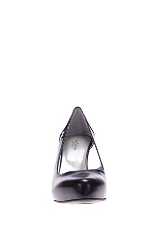 Nero Giardini Femme ouvert côté P615355DE-100 plateau ouvert côté en cuir avec plateau Noir - noir