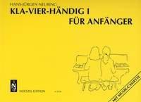 Kla-Vier-Händig - Band 1 für Anfänger für Klavier 4-händig
