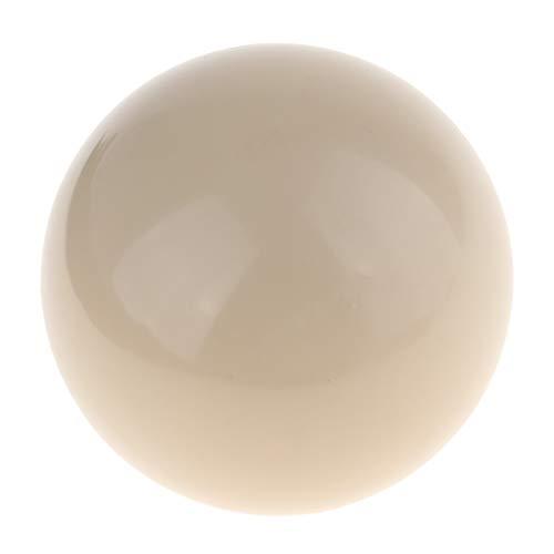 Fenteer Billardkugeln Pool-Ball Billard Spielball Offizieller Durchmesser: 57 mm Weiß