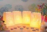 Luminaria Lichtertüten MIX, MINI, 8 St. - Doppelherz,Sonne,Glückklee,Schmetterline